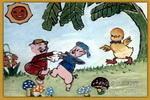 欢乐的童年儿童画