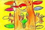 啄木鸟医生儿童画