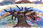 秋天来了儿童画作品欣赏