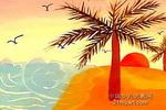 椰树儿童画作品欣赏