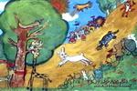 第二次赛跑儿童画作品欣赏