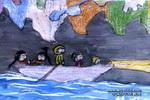 地下河擦奇儿童画作品欣赏