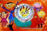 我5岁的生日儿童画