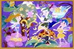 梦中森林儿童画