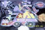 我设计的多功能汽车儿童画