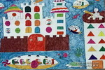 海底新家园儿童画作品欣赏