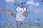 庆祝奥运儿童画图片