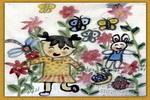 我的小花园儿童画