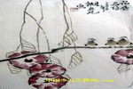 花香鸟语儿童画