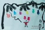 葫芦娃娃儿童水墨画