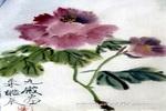 牡丹(国色天香)儿童画作品欣赏