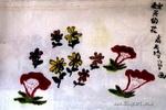 秋天的花儿童画