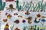 小鱼乐园儿童画