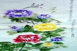 唯有牡丹真国色,花开时节动京城儿童画