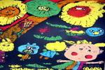 多彩的世界儿童版画