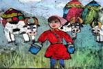 乳香儿童画作品欣赏