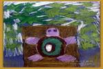 龟与树儿童画