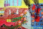 《放风筝》一儿童画