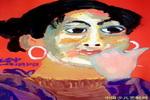 《大眼睛的人》儿童画