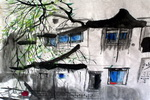 《小城之春》儿童画