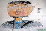 《我的老师》二儿童画