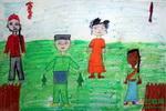 《马来西亚文化》儿童画