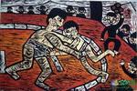 《相扑大地》儿童画