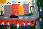《无题》20儿童画
