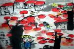 《山楂红了》儿童画