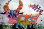 《大花牛》儿童画