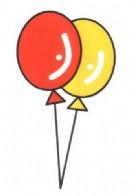 气球简笔画图片教程