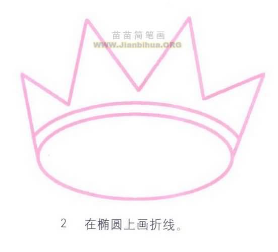 皇冠简笔画图片教程