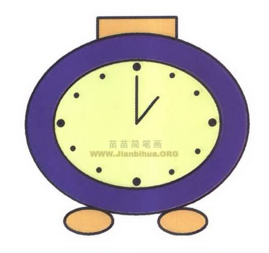 卡通钟表背景图图片展示_卡通钟表背景图相关图片图片