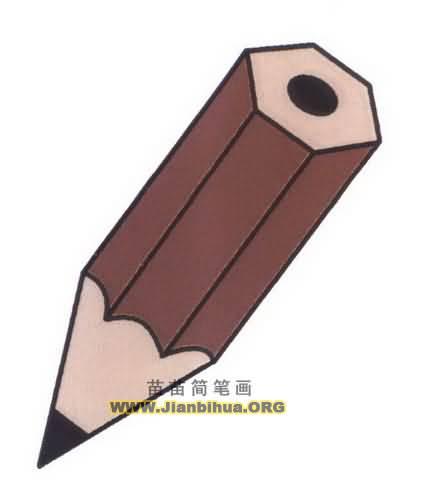 铅笔简笔画图片教程