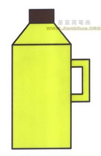热水瓶简笔画图片教程