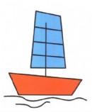 帆船简笔画图片教程