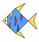 花纹鱼简笔画图片教程
