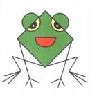 青蛙简笔画图片教程