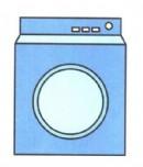 洗衣机简笔画图片教程