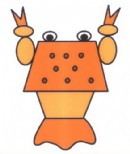 卡通龙虾简笔画图片教程