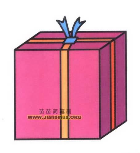 圣诞礼物简笔画图片教程