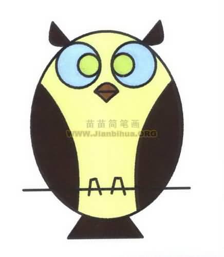 【最新】《猫头鹰简笔画图片大全》