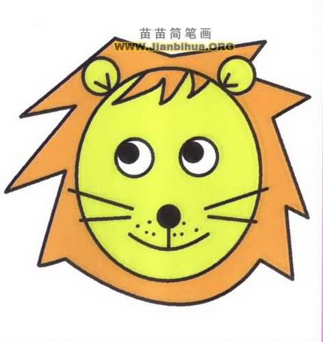 net 熊简笔画图片大全_可可简笔画 狮子图片大全大图图片