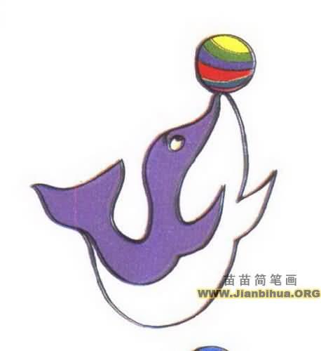 海豚简笔画图片大全画内容|海豚简笔画图片大全画版面设计