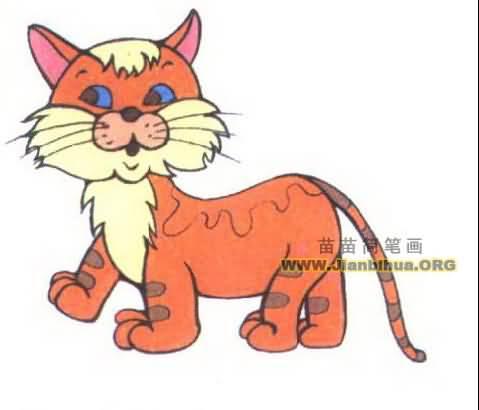猫的简笔画图片大全