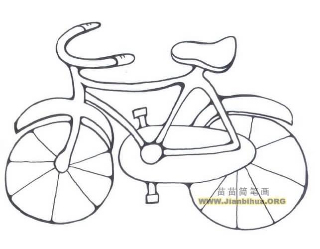 自行车简笔画图片相关图片下载