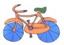 自行车简笔画图片大全
