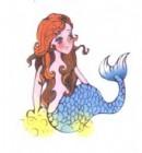 卡通美人鱼简笔画图片大全