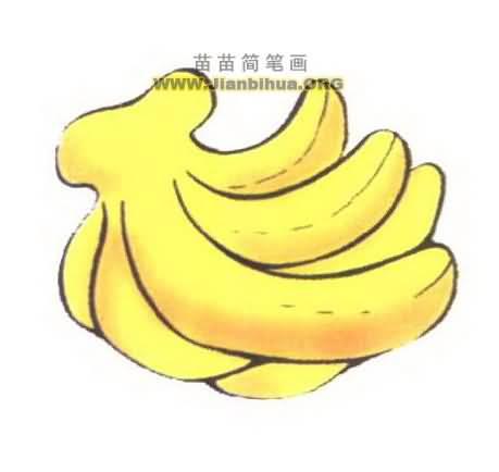 香蕉简笔画图片大全