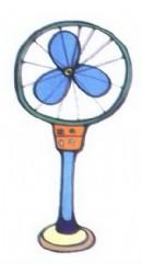 电风扇简笔画图片3张